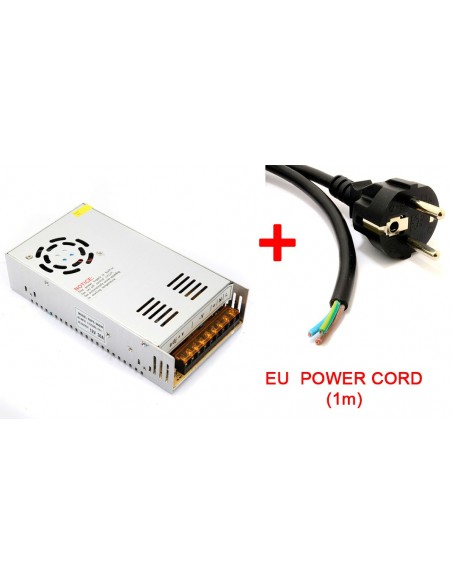 Power supply - 12V30A 360W + cable