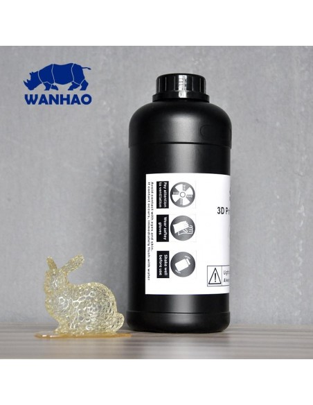 Wanhao 3D-Printer UV Resin - 1000 ml - Clear