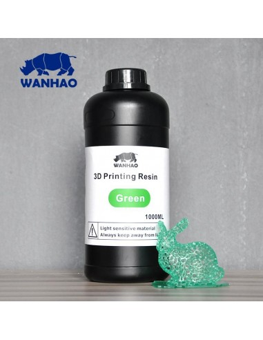 Wanhao 3D-Printer UV Resin - 1000 ml - Verde