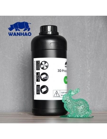 Wanhao 3D-Printer UV Resin - 1000 ml - Green