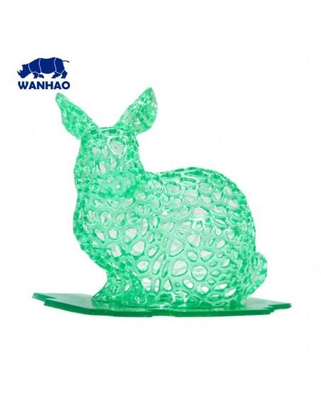Wanhao 3D-Printer UV Resin - 1000 ml - Verde