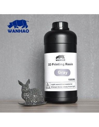 Wanhao 3D-Printer UV Resin - 1000 ml - Gris