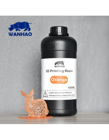Wanhao 3D-Printer UV Resin - 1000 ml - Naranja