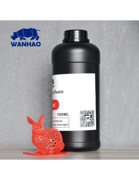 Wanhao 3D-Printer UV Resin - 1000 ml - Red