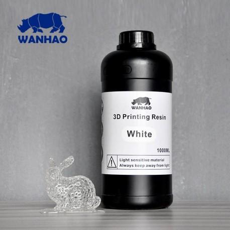 Wanhao 3D-Printer UV Resin - 1000 ml - White