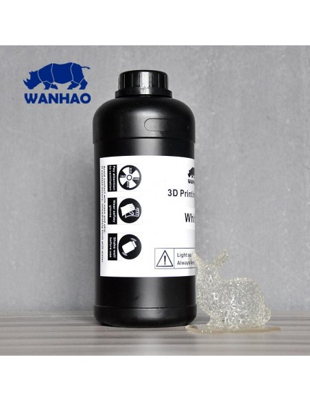 Wanhao 3D-Printer UV Resin - 1000 ml - Blanco