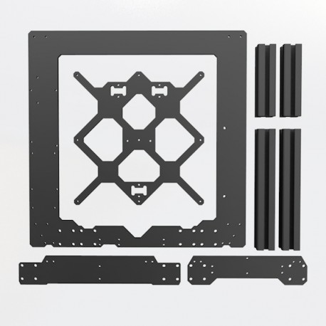 ALUMINIUM STRUCTURE KIT FOR Prusa i3 MK3