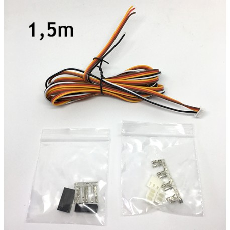 BLTouch extension cables not crimped - 1,5m