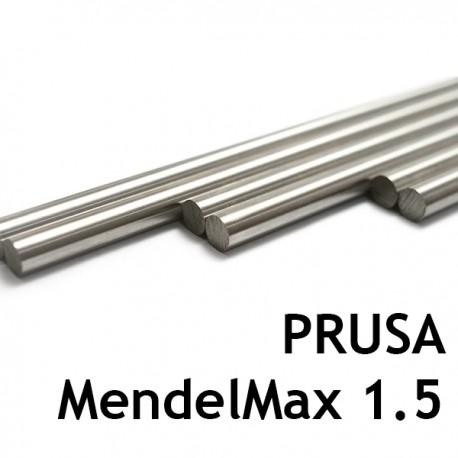 Smooth rods KIT for MendelMax 1.5