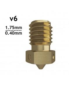 v6 Nozzle - 1.75mm x 0.40mm