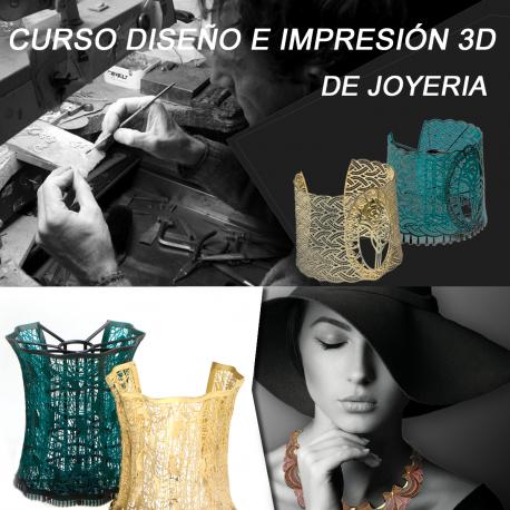 Curso de diseño joyería e impresión 3D