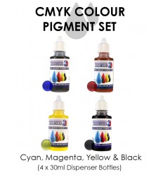 CMYK PIGMENT SET (4 X 30mls)