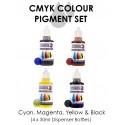 CMYK SET PIGMENTOS (4 X 30mls)