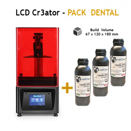 LCD Cr3ator by BlueCast - Pack Dental