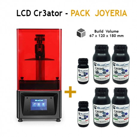 LCD Cr3ator by BlueCast - Pack Joyeria