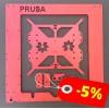 Aluminum frame Prusa i3 RED ANODIZED