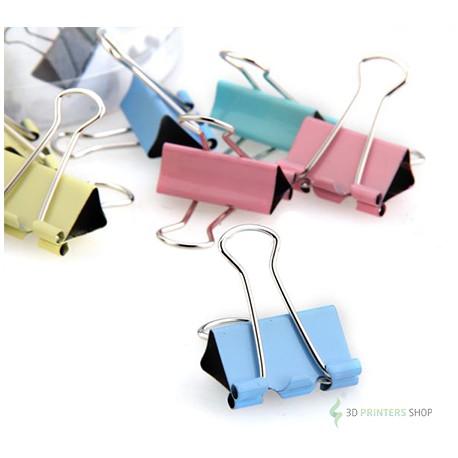 Bulldog clips for heatedbed glass
